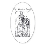 Westford Knight Oval Sticker