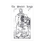 Westford Knight Rectangle Sticker 10 pk)
