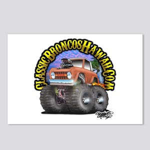 Classic Broncos Hawaii.Com Postcards (Package of 8