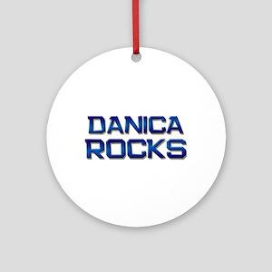 danica rocks Ornament (Round)