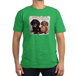 Valuable Pet Lesson #4 Men's Fitted T-Shirt (dark)