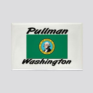 Pullman Washington Rectangle Magnet