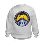 USS MOUNT HOOD Kids Sweatshirt