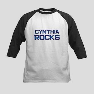 cynthia rocks Kids Baseball Jersey