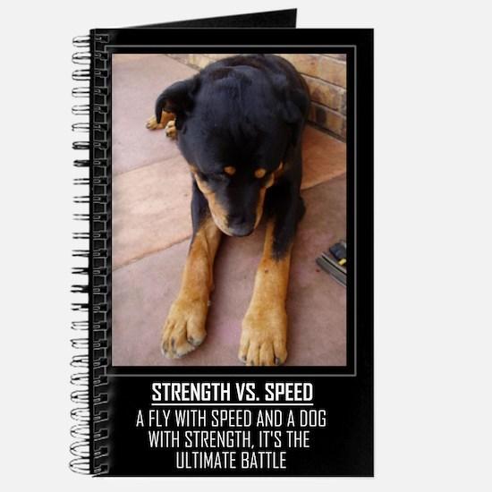 Strength vs. Speed Journal