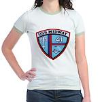 USS MIDWAY Jr. Ringer T-Shirt