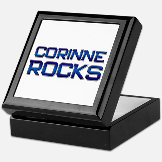corinne rocks Keepsake Box