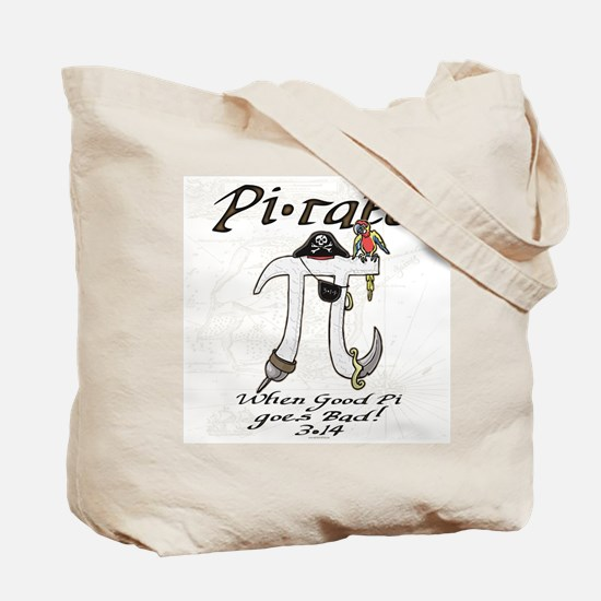 Pirate Pi Day Tote Bag