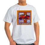 Crawfish Abstract Light T-Shirt