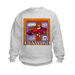Crawfish Abstract Kids Sweatshirt