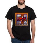 Crawfish Abstract Dark T-Shirt