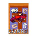 Crawfish Abstract Mini Poster Print