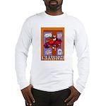 Crawfish Abstract Long Sleeve T-Shirt