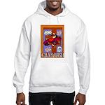 Crawfish Abstract Hooded Sweatshirt