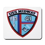 USS MIDWAY Mousepad