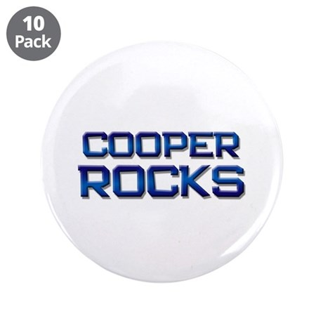 """cooper rocks 3.5"""" Button (10 pack)"""