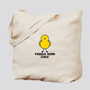 French Horn Chick Tote Bag