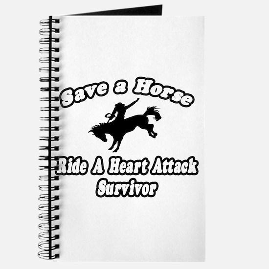 """""""Ride Heart Attack Survivor"""" Journal"""
