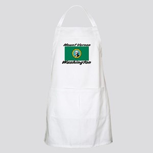 Mount Vernon Washington BBQ Apron