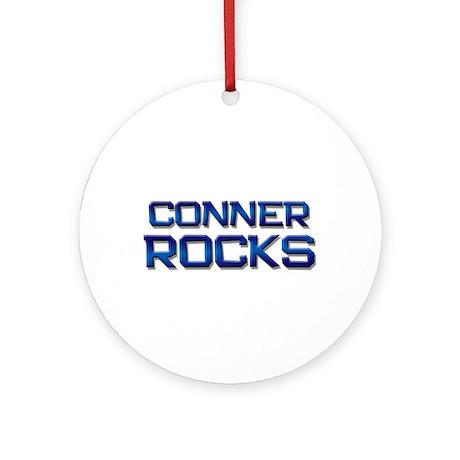conner rocks Ornament (Round)