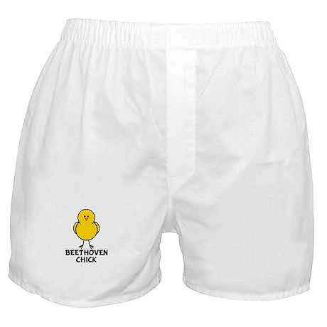Beethoven Chick Boxer Shorts