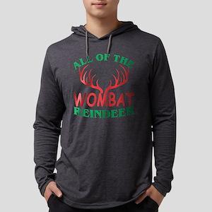 All Of The Wombat Reindeer Chr Long Sleeve T-Shirt