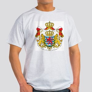 Luxembourg Coat Of Arms Ash Grey T-Shirt