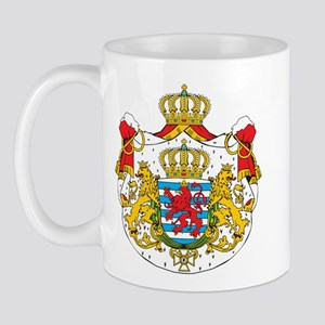 Luxembourg Coat Of Arms Mug