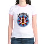 USS MISPILLION Jr. Ringer T-Shirt