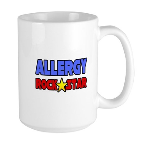 """Allergy Rock Star"" Large Mug"