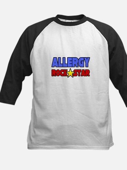 """Allergy Rock Star"" Kids Baseball Jersey"