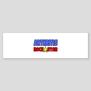 """""""Arthritis Rock Star"""" Bumper Sticker"""