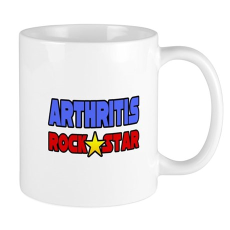 """Arthritis Rock Star"" Mug"