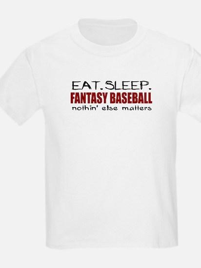 Eat Sleep Fantasy Baseball T-Shirt