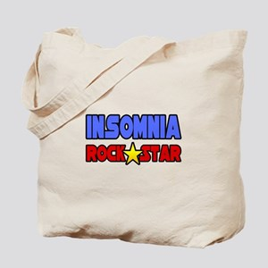 """Insomnia Rock Star"" Tote Bag"