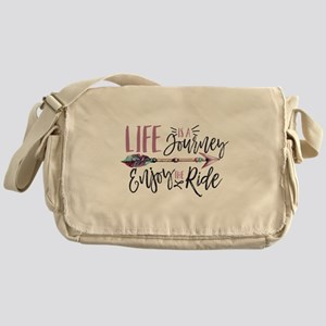 Life Is A journey Enjoy The Ride Messenger Bag