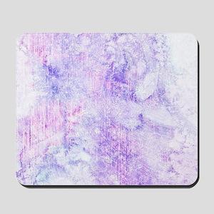 Lavender Purple Marble Watercolor Mousepad