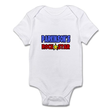 """""""Parkinson's Rock Star"""" Infant Bodysuit"""