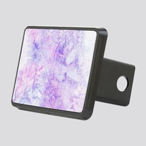 Lavender Purple Marble Wat Rectangular Hitch Cover
