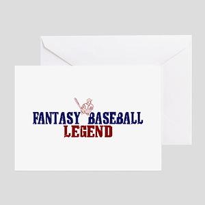 Fantasy Baseball Legend (2009) Greeting Card