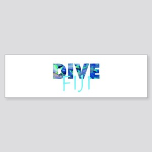 Dive Fiji Bumper Sticker