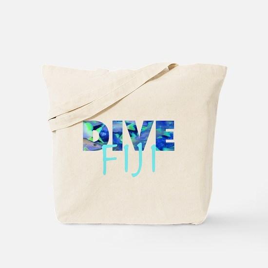 Dive Fiji Tote Bag