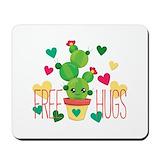 Free hugs cactus Classic Mousepad