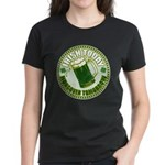 Irish today drunk tomorrow St Women's Dark T-Shirt