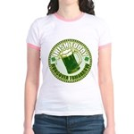Irish today drunk tomorrow St Jr. Ringer T-Shirt