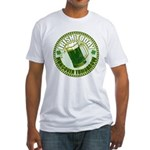 Irish today drunk tomorrow St Fitted T-Shirt