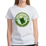 Irish today drunk tomorrow St Women's T-Shirt