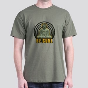 Be Cool Military Green T-Shirt