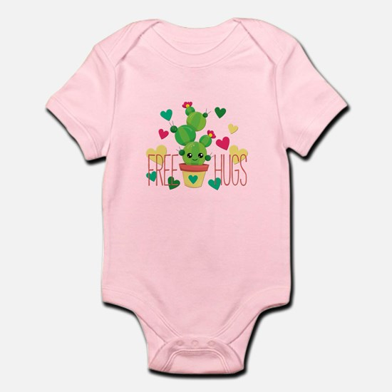 Free Hugs Cute Cactus Plant Body Suit