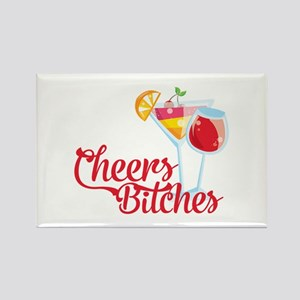 Cheers Bitches Cocktails Wine Magnets